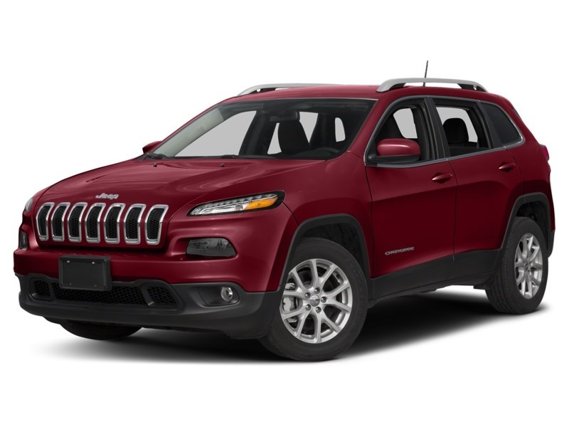 2016 Jeep Cherokee North Deep Cherry Red Crystal Pearl  Shot 1