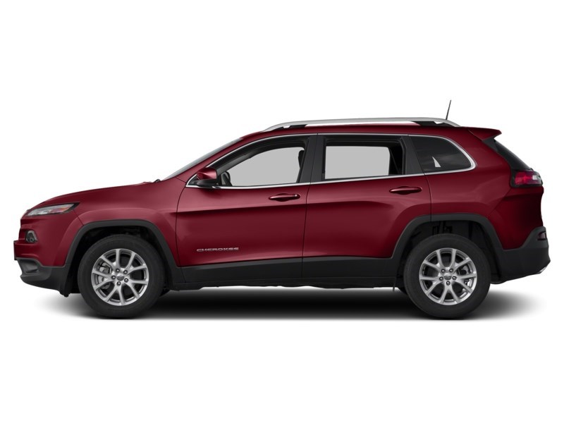 2016 Jeep Cherokee North Deep Cherry Red Crystal Pearl  Shot 3
