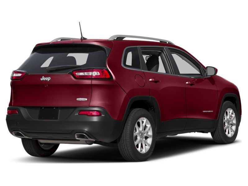 2016 Jeep Cherokee North Deep Cherry Red Crystal Pearl  Shot 2