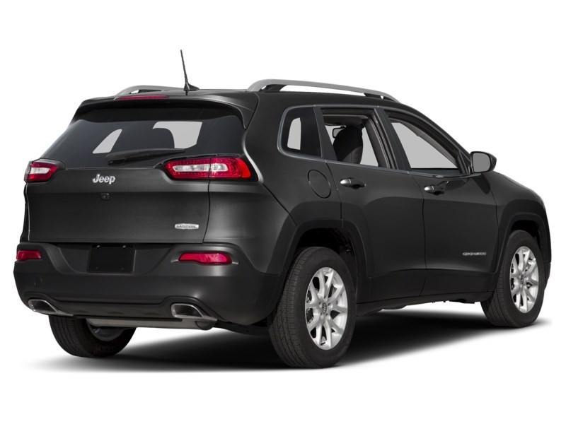 2016 Jeep Cherokee North Brilliant Black Crystal Pearl  Shot 2