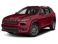 2016 Jeep Cherokee Overland Deep Cherry Red Crystal Pearl  Shot 1