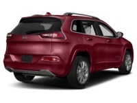 2016 Jeep Cherokee Overland Deep Cherry Red Crystal Pearl  Shot 2