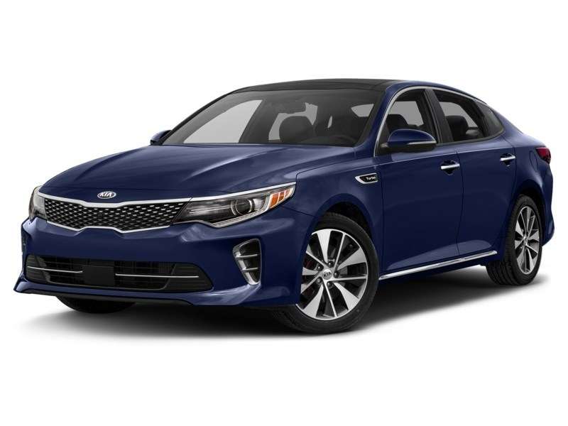 2018 Kia Optima SXL Turbo Lightning Blue  Shot 1