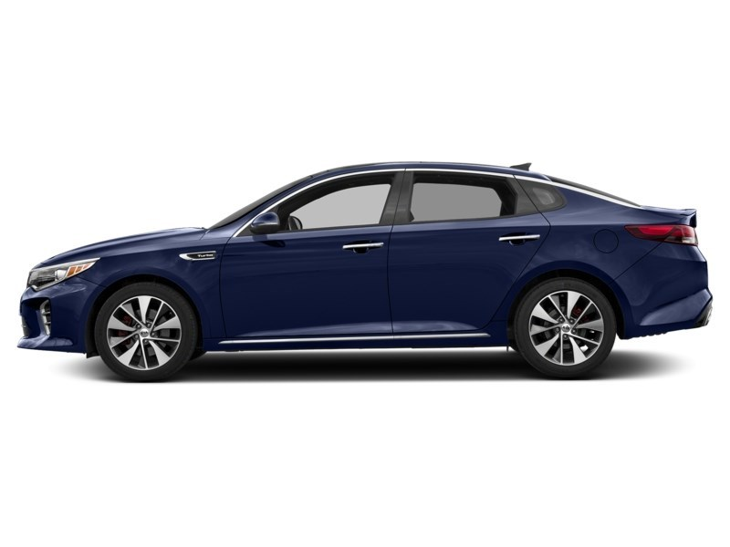 2018 Kia Optima SXL Turbo Lightning Blue  Shot 3