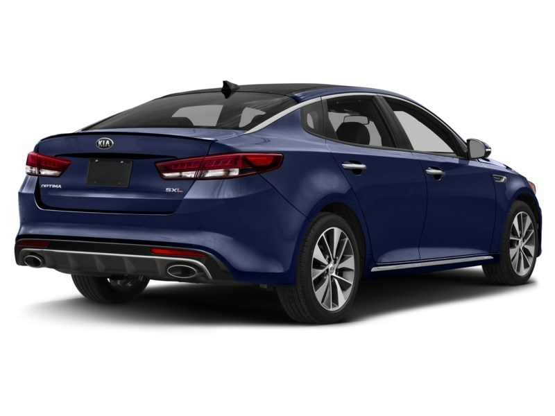 2018 Kia Optima SXL Turbo Lightning Blue  Shot 2
