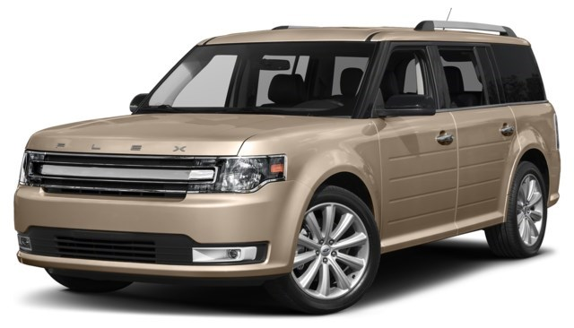 2017 Ford Flex White Gold [Gold]
