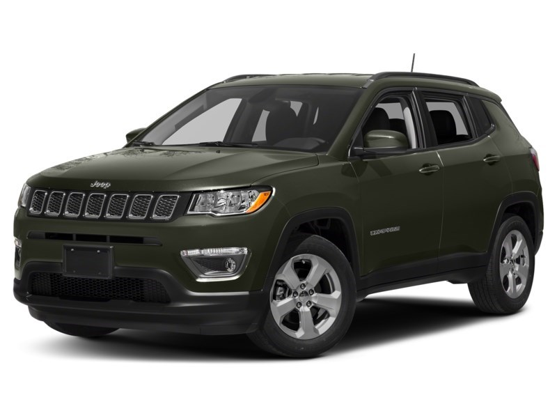 2018 Jeep Compass Limited Olive Green Pearl  Shot 7