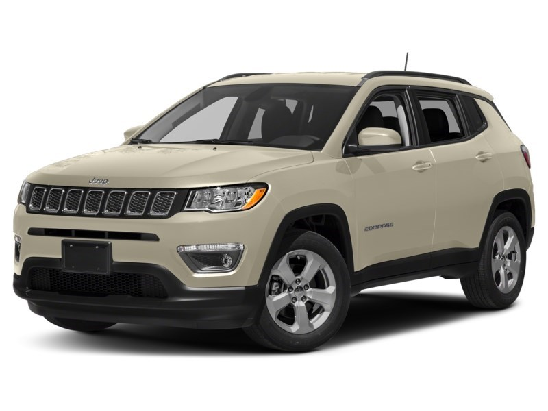 2018 Jeep Compass Limited Pearl White Tri-Coat  Shot 4
