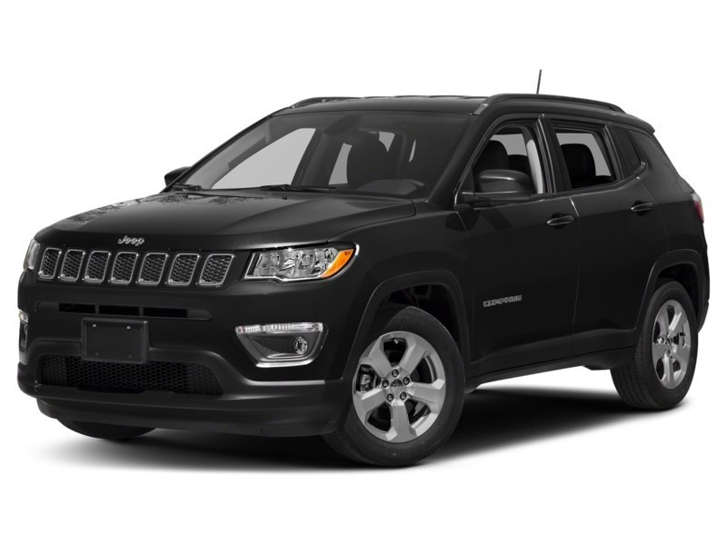 2018 Jeep Compass Limited Diamond Black Crystal Pearl  Shot 28