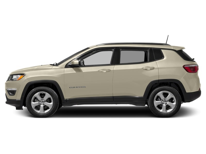 2018 Jeep Compass Limited Pearl White Tri-Coat  Shot 6
