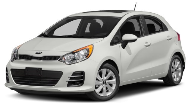 2017 Kia Rio 5-door Polar [White]