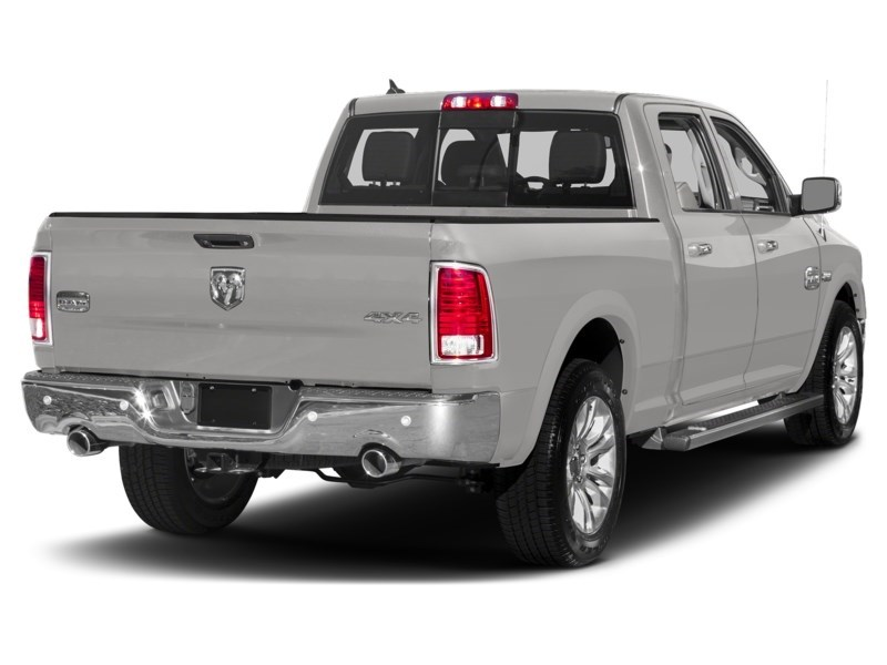 2018 RAM 1500 Longhorn Bright Silver Metallic  Shot 2