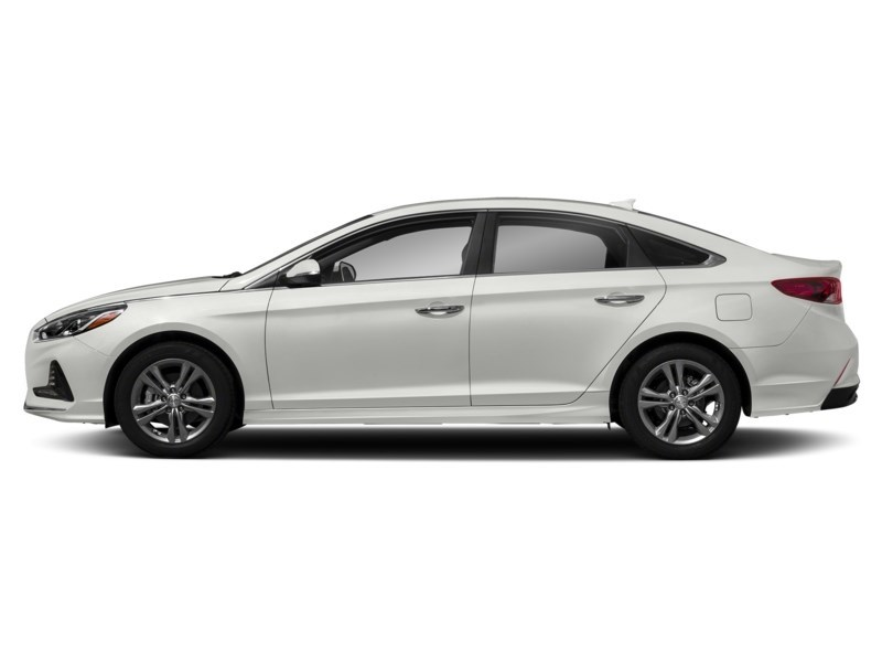 2018 Hyundai Sonata GLS Ice White  Shot 3