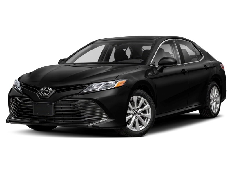 2019 Toyota Camry LE LOADED!!! ***BEST DEAL IN ONTARIO*** Midnight Black Metallic  Shot 1