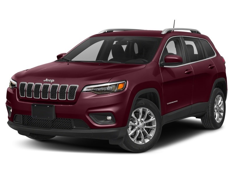 2019 Jeep Cherokee Limited Velvet Red Pearl  Shot 1