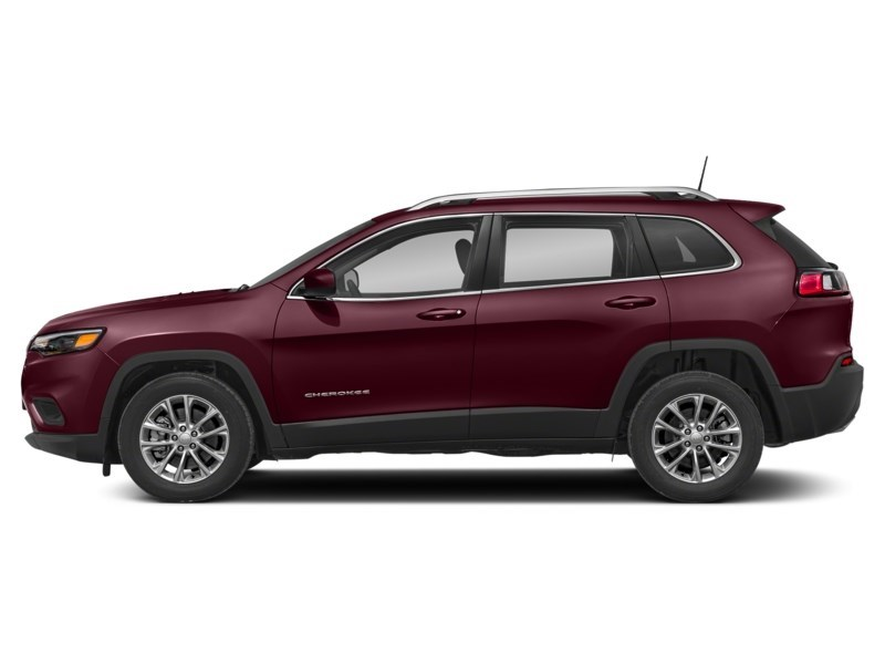 2019 Jeep Cherokee Limited Velvet Red Pearl  Shot 3