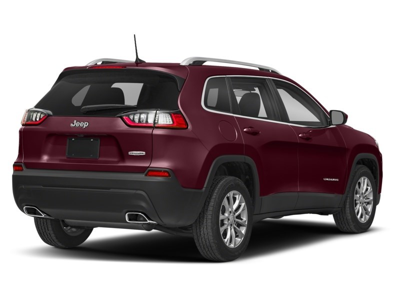 2019 Jeep Cherokee Limited Velvet Red Pearl  Shot 2