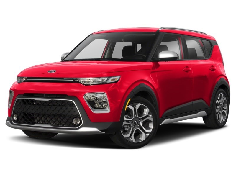 2020 Kia Soul EX+ Inferno Red  Shot 1