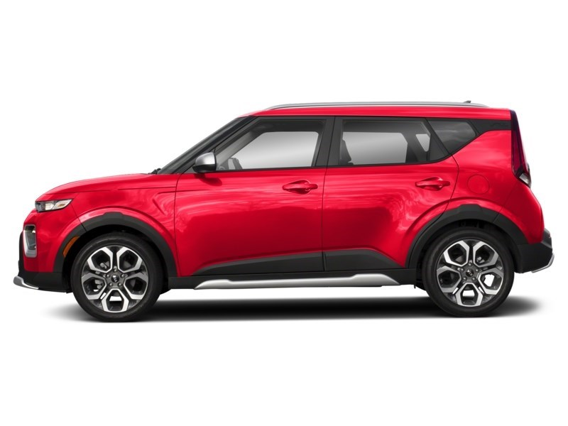 2020 Kia Soul EX+ Inferno Red  Shot 3