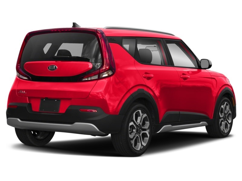 2020 Kia Soul EX+ Inferno Red  Shot 2